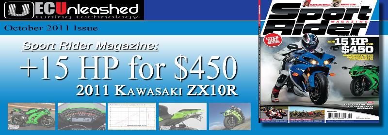 Sport Rider October 2011 ZX-10R
